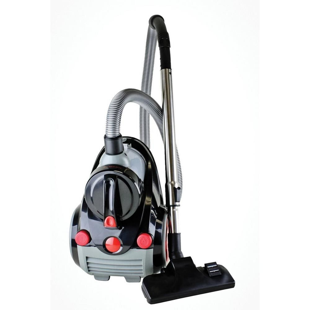Ovente Bagless Canister Cyclonic Vacuum with HEPA Filter, Co
