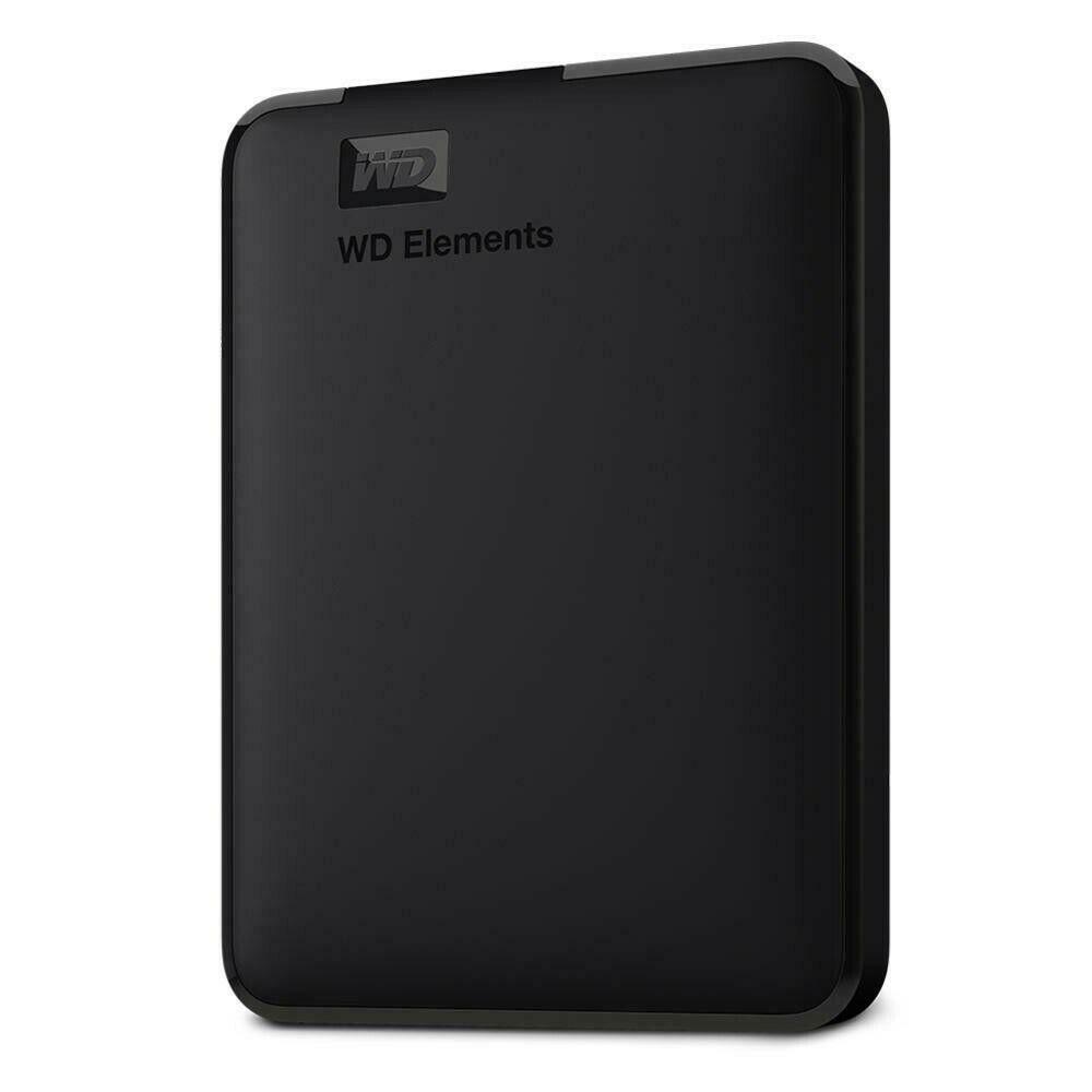 WD Elements Portable 2TB Manufacturer Refurbished Hard Drive by Western Digital