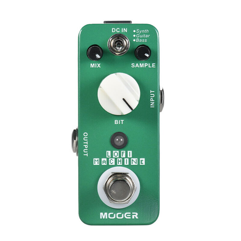 Mooer Lofi Machine Wide Range Sampling Guitar Effect Pedal Processsor MSE1