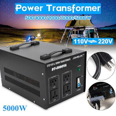 Step Down Voltage Converter Transformer (5000W Step Up Down Electric Power Voltage Converter Transformer Heavy Duty)