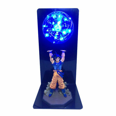 Blue Anime Dragon Ball Z LED Light Son Goku Spirit Bomb Lamp Action Figures Toy