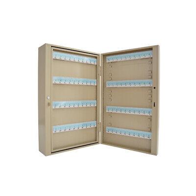 80-240keys Safe Wall Mount Holder Cabinet Storage Hooks Lock Box Key Lock Box