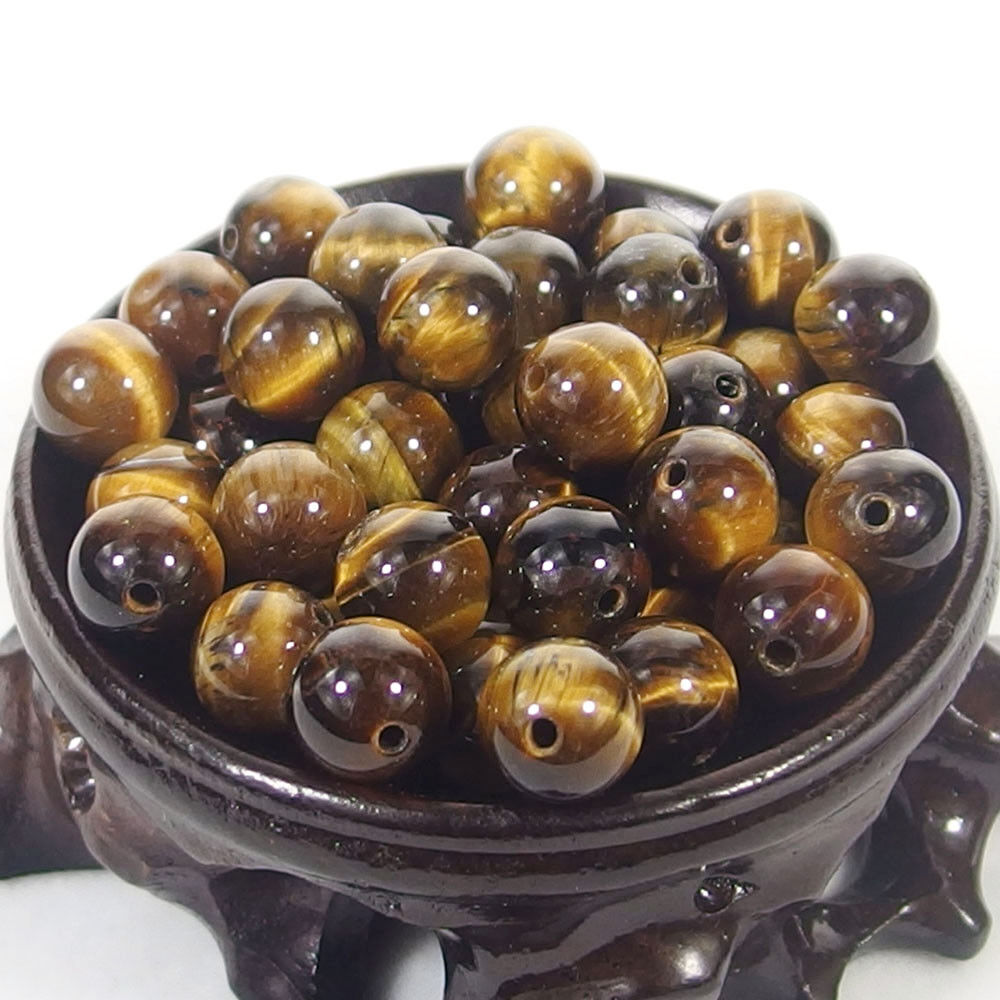 Bulk Gemstones I natural spacer stone beads 4mm 6mm 8mm 10mm 12mm jewelry design tiger's eye jasper