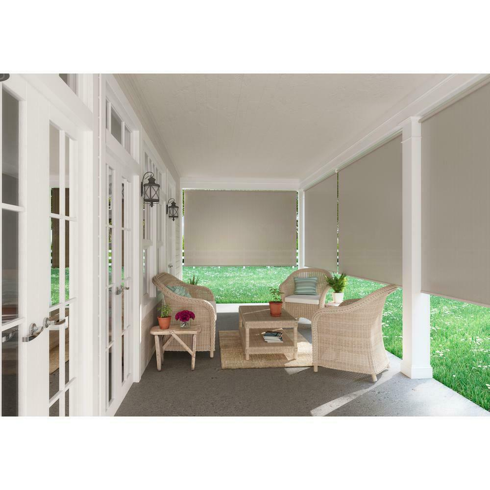 Spring Operated Exterior Patio Blinds