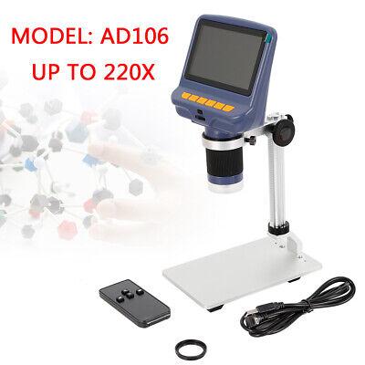 Andonstar Ad106 Digital Microscope Electronic For Pcb Circuit Board Repair New