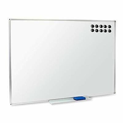 Magnetic Dry Erase Whiteboard Bulletin Board 48 X 36