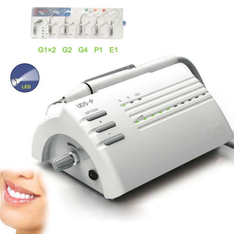 Woodpecker UDS-P LED Dental Ultrasonic Piezo Scaler Optical Light Handpiece ENDO