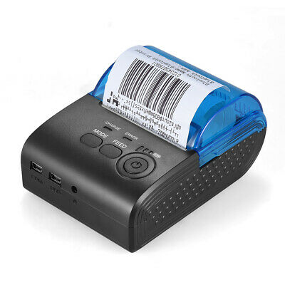 Mini Wireless Bluetooth Thermal Printer 58mm Ticket Pos Printer For Ios Android