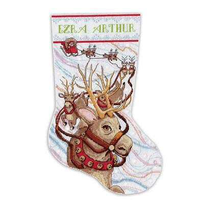 Design Works™ Reindeer Ride Stocking Counted Cross-Stitch