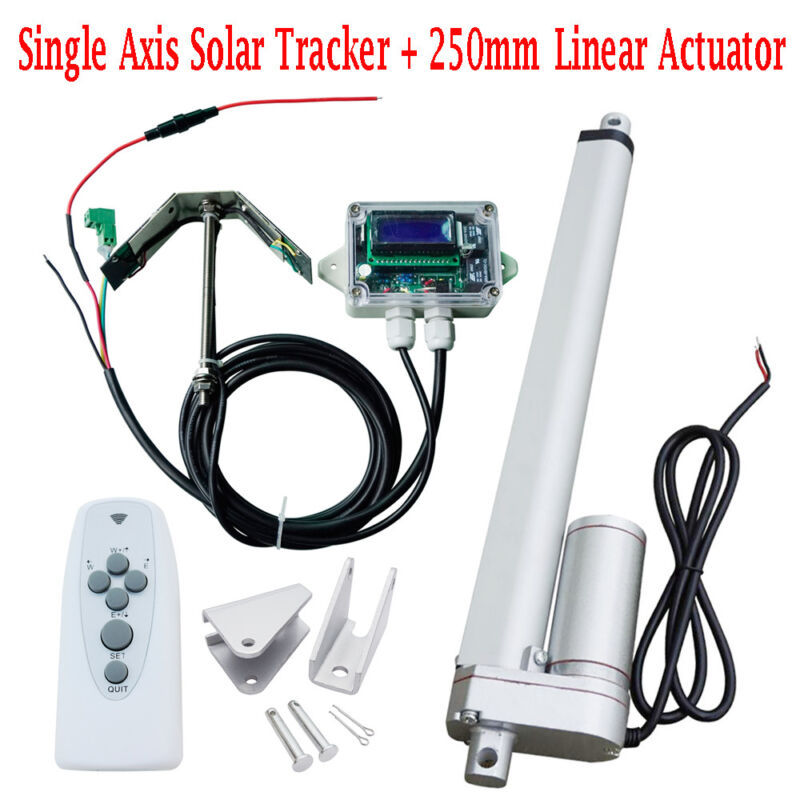 1KW Tracking Single Axis Sunshine Tracker System 10