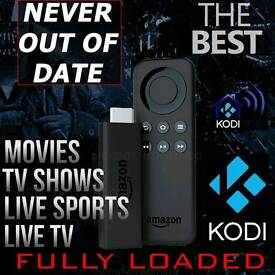 Amazon Fire TV Stick ✔Kodi 17 ✔Autoupdates✔Movies✔Boxsets✔Sports✔Live TV✔any questions please ask