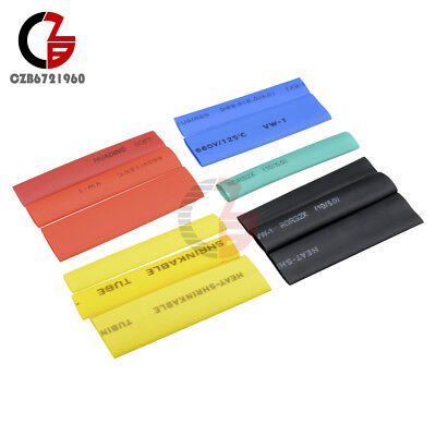 328pcs Assorted Heat Shrink Tube 5 Colors 8 Size Tubing Wrap Set Wire Assortment
