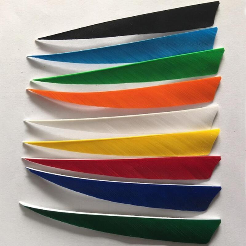 """Archery 4""""/5"""" Shield Turkey Arrow Feathers RW for DIY Handmade Fletching Arrows"""