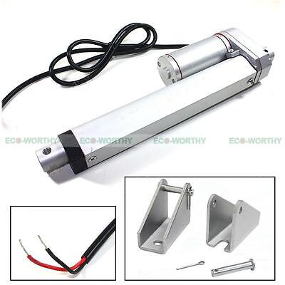 14 Inch Stroke High Speed Linear Actuator Heavy Duty 330 Lbs Max Lifting Boat