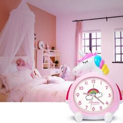 Unicorn Alarm Clock for Kids Wake Up Night with Loud Music Alarm, Ideal Gifts