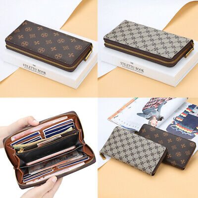 Women's Long Wallet Zipper Large Capacity Wallet Fashion Wallet Credit Card Bag Large Credit Card Wallet