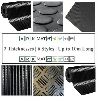 Choose from 22 Styles, Size & Thickness of Roll Mat Rubber Van Flooring Matting