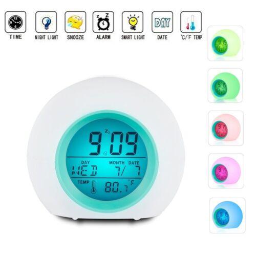 2018 Newest UpgradedAlarm Clock TKSTAR Wake Up Light Clock for Adults Kids Teens