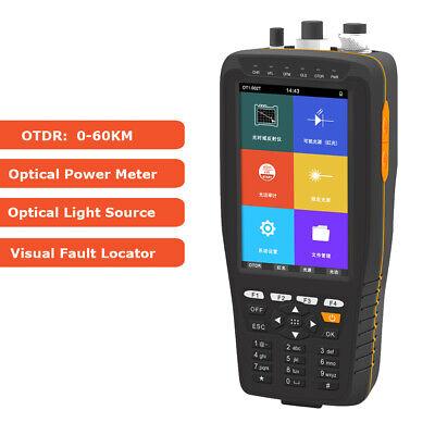 Otdr Optical Time Domain Reflectometer 13101550nm 2220db Vfl Opm Ols Red Light