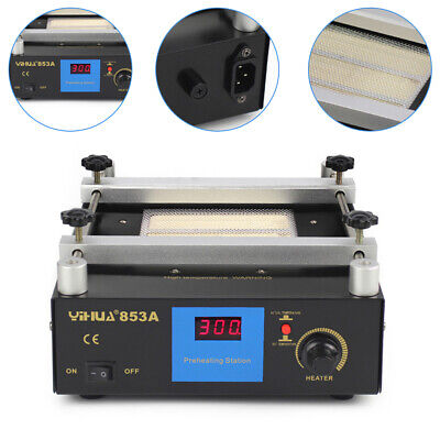 853a 600w Infrared Smd Pcb Preheater Bga Rework Station Preheating Oven Station