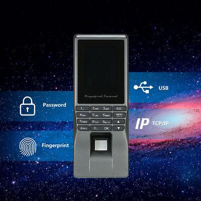 Biometric Face Fingerprint Time Attendance Clock Employee Payroll Recorder N1g9