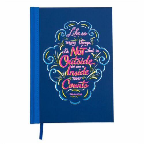 Disney Authentic Wisdom Aladdin Genie Journal Notebook Diary Limited Release New