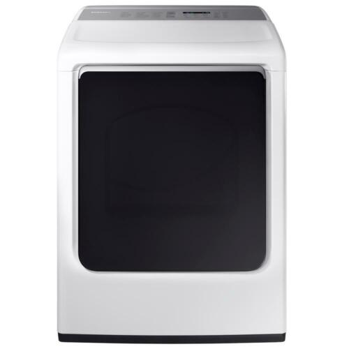 Samsung 7.4 cu. ft. Capacity Electric Dryer White DVE54M8750W