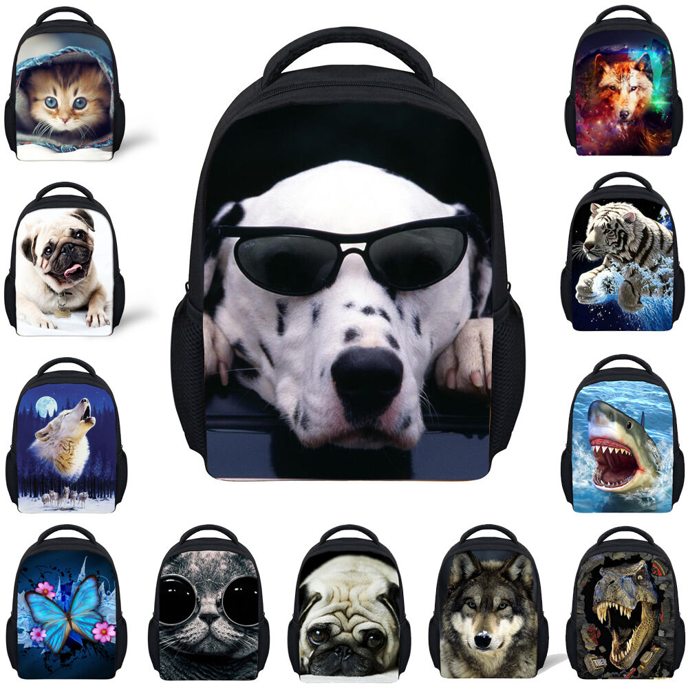 New Children Small Animal Backpack Baby Toddle Kids Bookbag