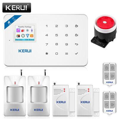 KERUI W18 WIFI GSM SMS Oficina en casa Antirrobo Intruso Sistema de...