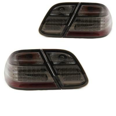 Design LED Rückleuchten Set Mercedes CLK C208 A208 3/97-4/02 schwarz SYN