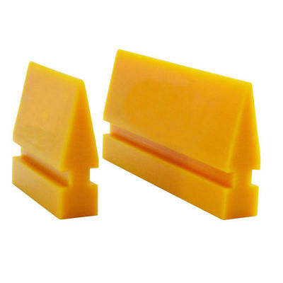 Turbo Rubber - Rubber Yellow Turbo Squeegee Blade for Window Tint Film Installation Tool 2 Size