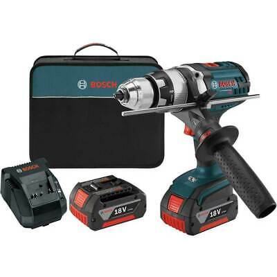 Bosch Ddh181x-01-rt 18v 12 4.0ah Brute Tough Drill Driver Set - Reconditioned