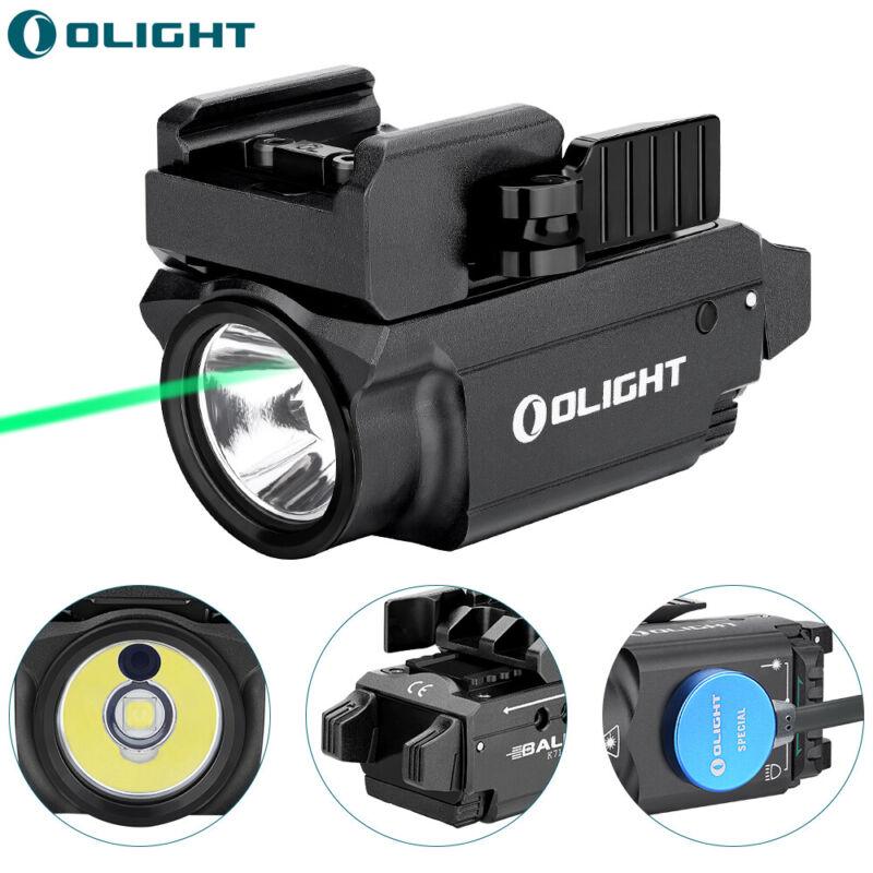 OLIGHT Baldr Mini 600Lumen Green Laser Rail Mounted Weapon Pistol Tactical Light