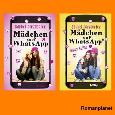 Bärbel Körzdörfer I Mädchen auf WhatsApp Band 1+2 im Set I Portofrei Auf Band 2