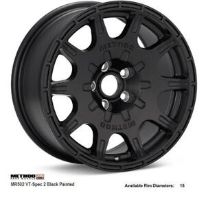 method race wheels MR502 VT-Spec 2 (Black Painted)