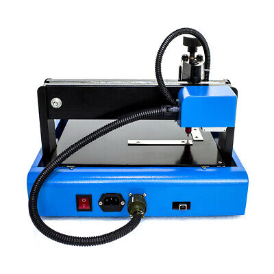 110v Electric Metal Steel Marking Machine Engraving Router Signage 15mm 400 W