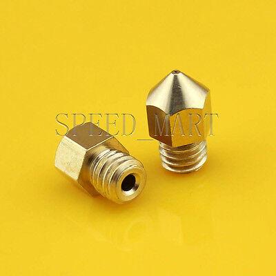 0.4mm Nozzle 3d Printer Extruder Head Hot End For Mk8 Makerbot 1.75mm Filament