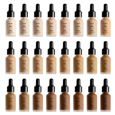 Nyx Total Control Drop Foundation   New And Authentic   24 Color  Us Ship