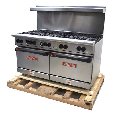 Vulcan G60ss-1db Endurance 10-burner 60wide 2-oven Natural Gas Restaurant Range
