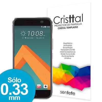Sentete® HTC 10 Protector de Pantalla de Cristal Templado PREMIUM