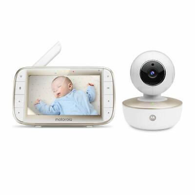 "Motorola MBP855SCONNECT Video Baby Monitor with 5"" Handheld Parent Unit"