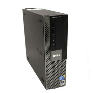 Dell Optiplex 960 Dual Core Small Form Windows XP Pro PC + Serial Port - 32160X