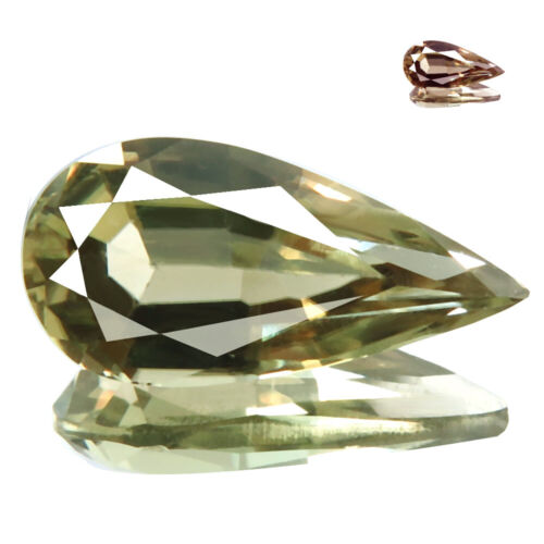 2.82ct WOW FLAWLESS RARE NATURAL COLOR CHANGE DIASPORE FROM TURKEY DON