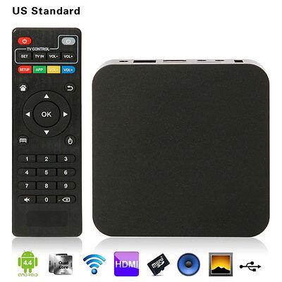 Amlogic S805 Android 4.4 Quad Core 8GB 1080P WiFi Smart TV Box Black  us