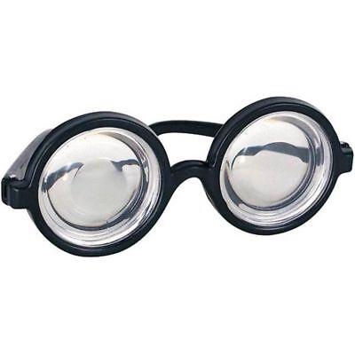 Nerd Brille Rund Blasen Brillen Käfer Augen Brille Koks Flaschenkostüm - Blasen Kostüm Brille