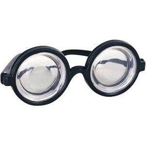 e40aaf94539 Nerd Glasses Round Bubbles Glasses Bug Eyes Specs Coke Bottle Costume  Goggles