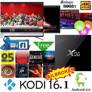 Ultra HD Latest KODI  X96 Android TV Box 2GB RAM/16  GB storage Dandenong Greater Dandenong Preview