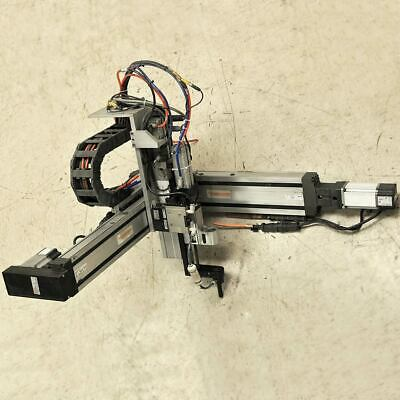 Bosch Rexroth Ckk 12-9015-110 37cm31cm Xyz Festo 3 Axis Linear Robot Module