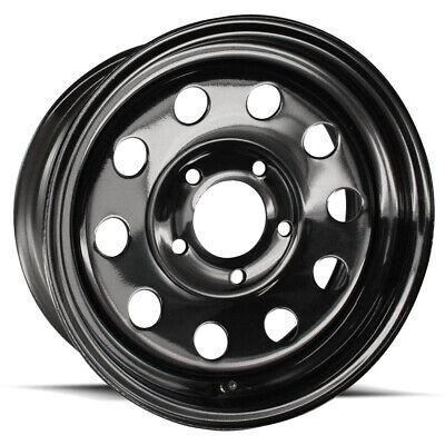 15 Inch 5 on 5  Black Modular Trailer Wheel Rim New