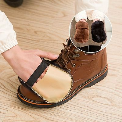 Cleaning Gloves For Leather Shoes Bags Cleaning Polishing Shoe Care Brush Hot